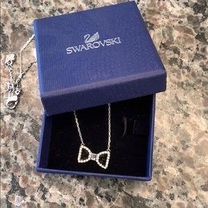 Swarovski Bow pendant